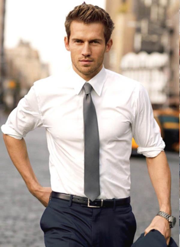 cách chọn áo sơ mi nam cho người gầy